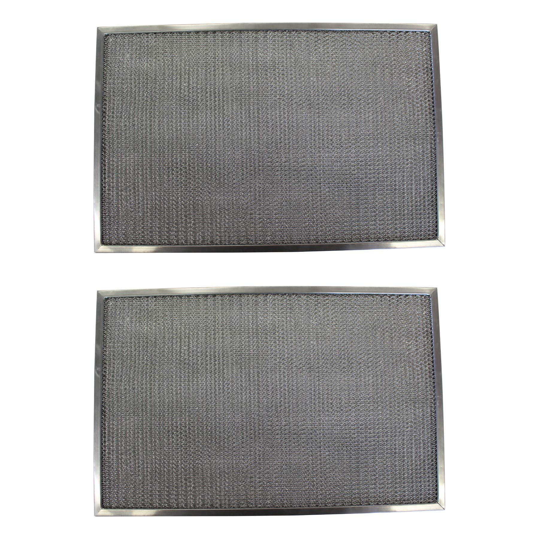 Replacement Aluminum Filters Compatible with Nutone 16212 000,G 8526,RHF0401  9 1/2 x 17 3/4 x 3/8 (