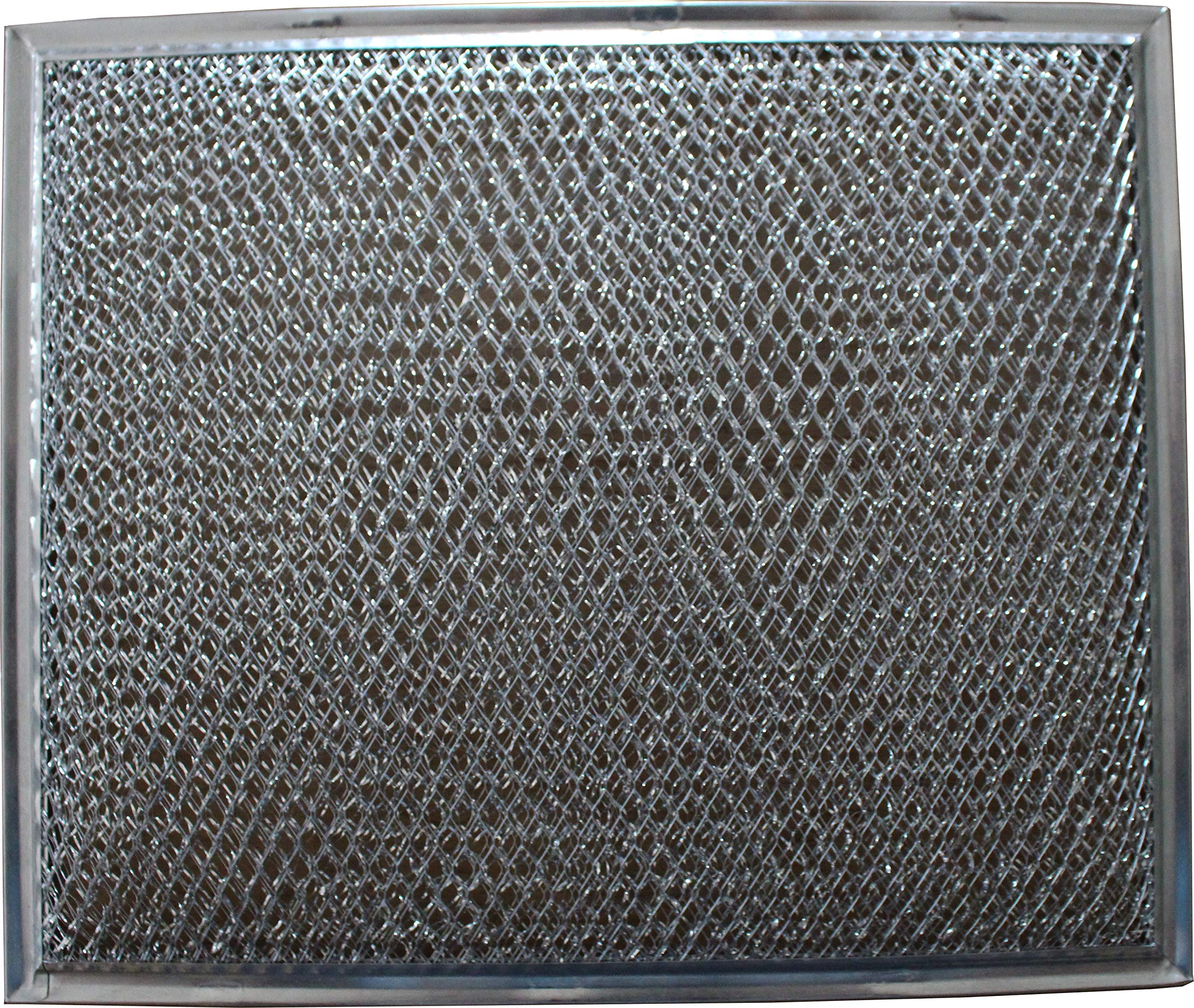 Replacement Aluminum Filter Compatible With Many Broan / Nutone Models   10 1/2 x 8 3/4 x 1/8 inches