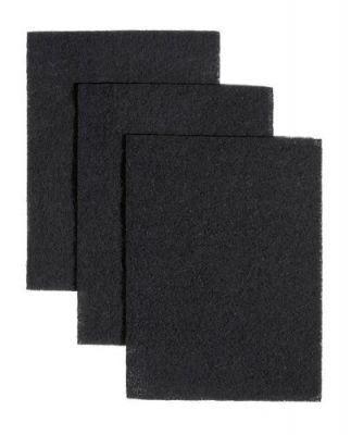 Replacement Charcoal Filter Pads Compatible With Broan BP58, 7 3/4 x 10 1/2 Inch (3 Pack)