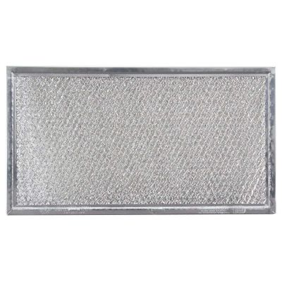Replacement Microwave Grease Filter Compatible with Whirlpool 8206229A   5 7/8 x 10 5/8 x 3/32   1 Pack