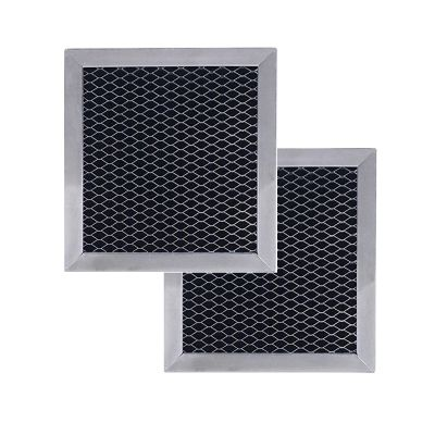 820623A 8206230 Whirlpool Replacement filter by Duraflow   5 1/8 x 5 3/8 x 3/8   2 Pack