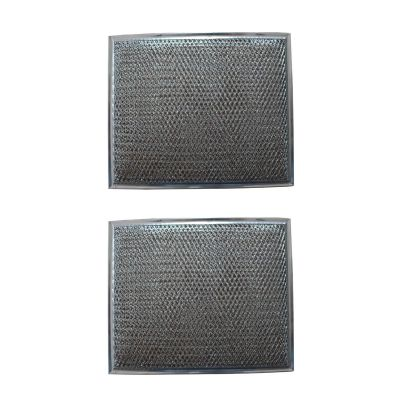 Replacement Aluminum Filter Compatible With Many Broan / Nutone Models   8 3/4 x 10 1/2 x 1/8 inches  (2 Pack)