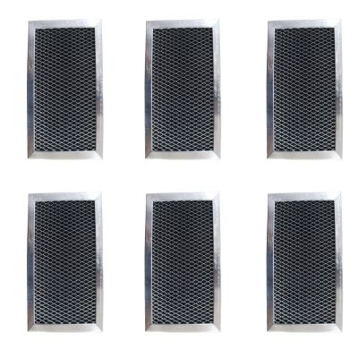 Replacement Carbon Filters Compatible with GE: WB02X10776, W10190762, JX81C Whirlpool: 8183916, W10190762 Maytag: W10190762, (6 Pack)