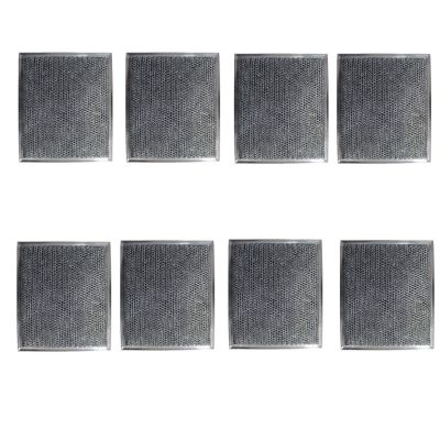Replacement Carbon Filters compatible with GE: WB2X8406, WB02X10700 , 7506 (8 Pack)