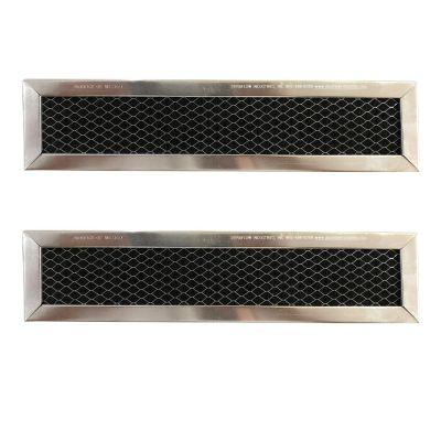 Replacement Carbon Filters Compatible with GE: WB02X10943, JX81D 5230W2A003A Frigidaire: 530440665 (2 Pack)