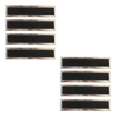 Replacement Carbon Filters compatible with GE: WB02X10943, JX81D 5230W2A003A Frigidaire: 530440665 (8 Pack)