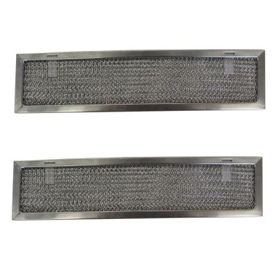 Replacement Aluminum Filters Compatible with Dacor 82363,G 8654,RHF0832  8 x 12 3/4 x 3/8 (PT SS) (2 Pack)
