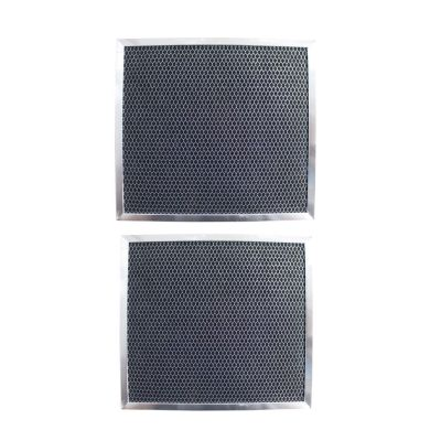 Replacement Carbon Filters compatible with GE:WB2X2891 WB2X9760 Broan / Nutone: 99010113 99010187 GEM: RF100 (2 Pack)