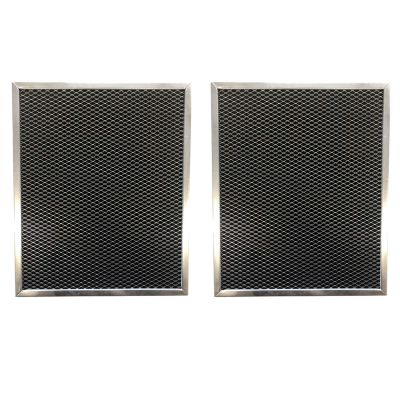 Replacement Carbon Pre/Post Filter  12 1/2 X 16 X 3/8   Compatible with Trion Air Cleaner Models 16 X 25 MODELS OF HE1400 TRIM Tx, MAX51400, SE1400, IAQ1400, AIRBEAR   (2 Pack)
