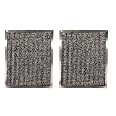 Aluminum Replacement Range Filter Compatible With Nutone K079000, K079 000  Dimensions: 8 x 11 x 3/8   2 Pack