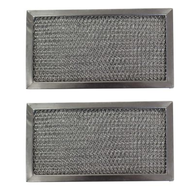 Replacement Aluminum Filters Compatible with Broan 66138000, Nutone 66138, Nutone 66138 000,G 8569,RHF0606  6 3/8 X 10 1/8 X 3/8 (2 Pack)