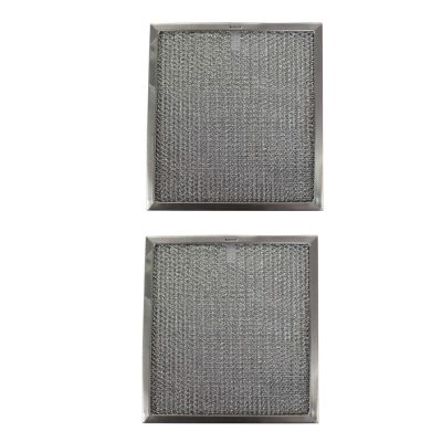 Replacement Aluminum Filters Compatible with Nutone 25791 000,G 8628,RHF1302  13 1/4 x 15 1/2 x 1/2 (2 Pack)