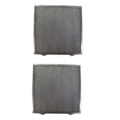 Replacement Aluminum Filters Compatible with Air King GF 01S,G 8105,  9 3/8 x 10 1/2 x 3/8 (2 TS LS 1PT LS) (2 Pack)