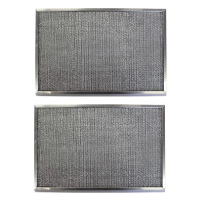 Replacement Aluminum Filters Compatible with Amana 830192,G 8611,RHF0841  8 15/16 x 18 15/16 x 3/8 (2 Pack)