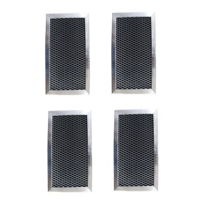 Replacement Carbon Filters compatible with GE: WB02X10776, W10190762, JX81C Whirlpool: 8183916, W10190762 Maytag: W10190762, (4 Pack)