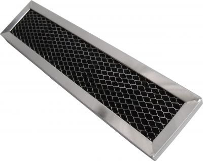 Charcoal Filter Replacement Compatible with JX81D and WB02X10943   Measures 2 1/2 x 11 x 3/8   1 Pack