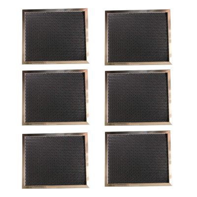 Replacement Carbon Filters compatible with Broan: 99010123, 97007696, 97005687 Caloric: Gem: 88152 RF104 Maytag: 47001046 Whirlpool: 4341999, 4378581, Maycor: 47001076 (6 Pack)