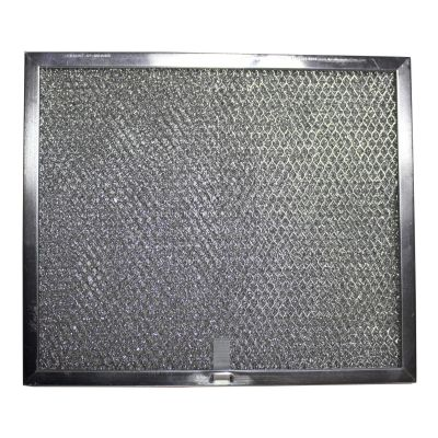 Aluminum Replacement Range Hood Filter 9 7/8 inches x 11 11/16 inches x 3/8 inches (1 Pack)