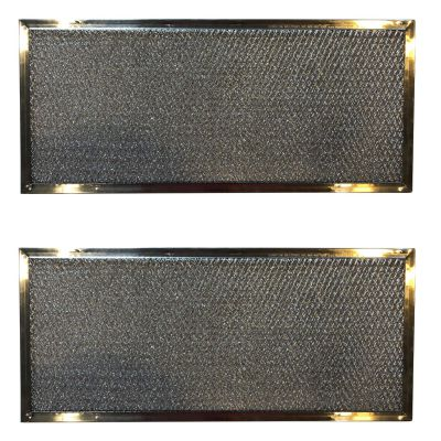 Replacement Aluminum Range Filters Compatible with Maytag Jenn Air 71002111   6 7/8 X 15 5/8 X 3/32   2 Pack
