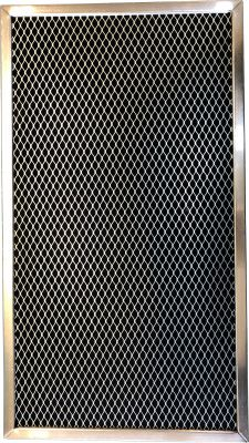 Carbon Range Filter Compatible With GE WB02X2266, GE WB02X2290, GE WB02X2892, GE WB02X9761, GE WB2X2290, GE WB2X2892, GE WB2X9761, Whirlpool W10386873,C 6114,11 3/8x 17 x 3/8 (PT SS) 1 Pack