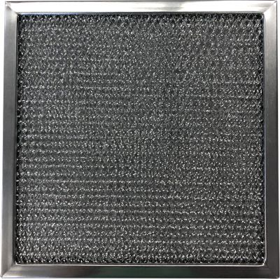 Replacement Range Filter Compatible With Broan LAF1,G 8171,RHF1201 12 x 12 x 3/8 2 HOLES EACH END 1 Pack