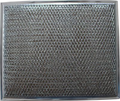 Replacement Aluminum Filter Compatible With Many Broan / Nutone Models   10 1/2 x 8 3/4 x 1/8 inches   1 Pack
