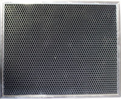 Carbon Range Filter Compatible With GE WB6X486, Nutone 61007 000,C 5798,RHF07157 3/4 X 9 X 1/8 (PT SS) 1 Pack