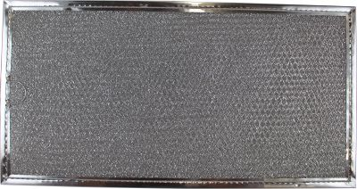 Aluminum Grease Filter Replacement Compatible with Estate 907945, R0130608 GE WB06X10796 LG 5230W2A004A, MDJ42908501 Whirlpool 907945, R0130608 7 3/4 x 15 x 3/32   1 Pack