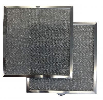 Replacement Range Hood Filter Compatible with Broan / Nutone Model S99010316   11 1/4 x 11 3/4 x 3/8 (2 Pack)
