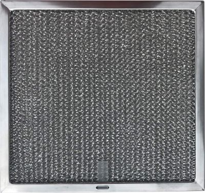 Replacement Range Filter Compatible with Thermador and Bosch Part 19 11 860 01  8 7/8 x 9 1/2 x 3/8 With Pull tab   1 Pack
