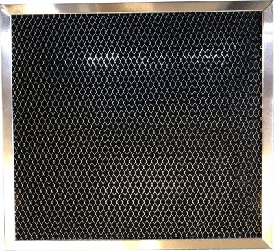 Carbon Range Filter Compatible With Broan 99010186, HD Supply 246250, Hughes MRO 893750, Mercury 99010186, Nutone 27862, Nutone 27862000, Nutone 99010186 8 15/16 X 8 15/16 X 3/8 1 Pack