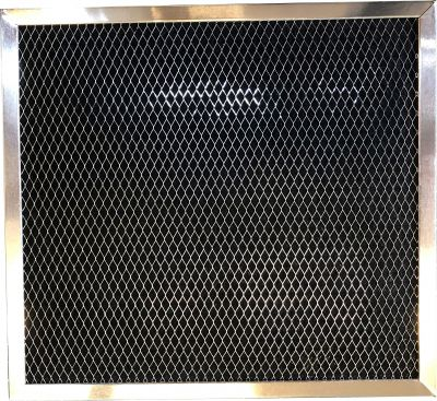 Carbon Range Filter Compatible With Bosch/Thermador/Gaggenau 19 11 860, Broan 99010185, Gemline RF103, Miami Carey 99010185, Miami Carey 533VP,C 6106,RCP08078 3/4 X 9 3/8 X 3/8 1 Pack