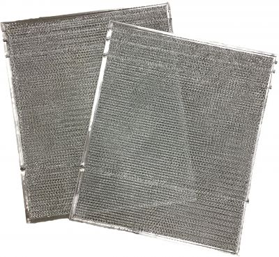 Duraflow Filtration 917763 Metal Mesh Filter, Fits Nordyne 917763 A Coils, One Pair, 19 H, 0.125 W, 16 L (Pack of 2)