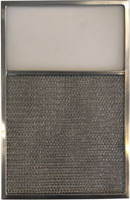 Replacement Range Filter Compatible With Rangeaire 610025,LG 8343,RLF1203 12 1/2 x 18 x 3/8 L6 1 Pack