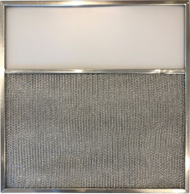 Replacement Range Filter Compatible With Kitchenaid 830371,G 8218,RLF1101 11 x 11 11/32 x 3/8 L3.5 1 Pack