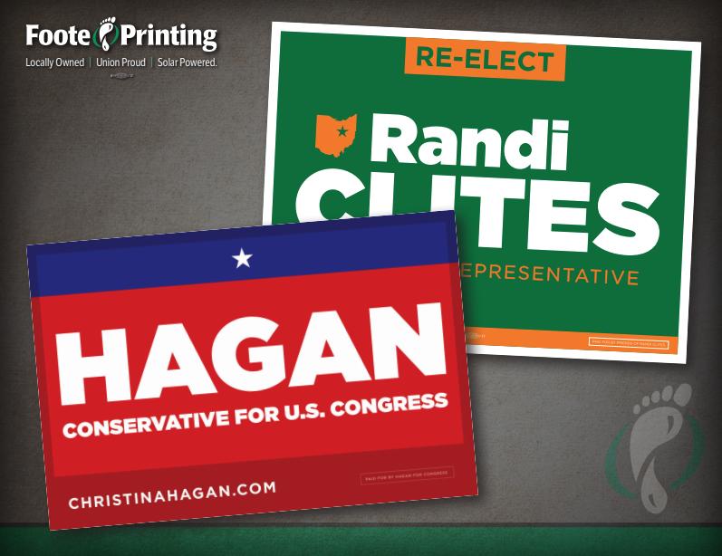 Political Printing Design