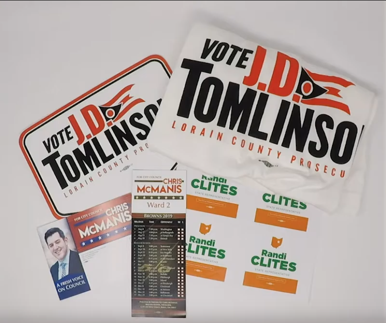 Printing Services for Political Campaigns in Ohio