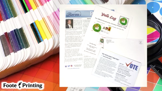Newsletter Design, Printing, and Mailing Services