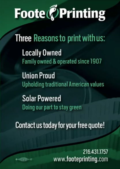 Printing for Cleveland Businesses