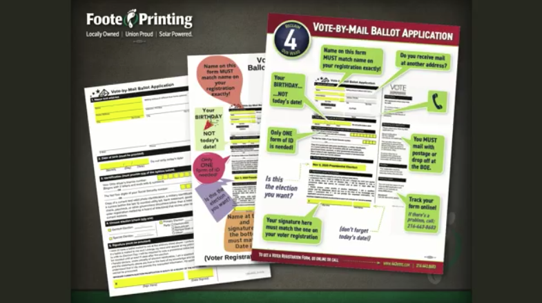Vote by Mail Applications