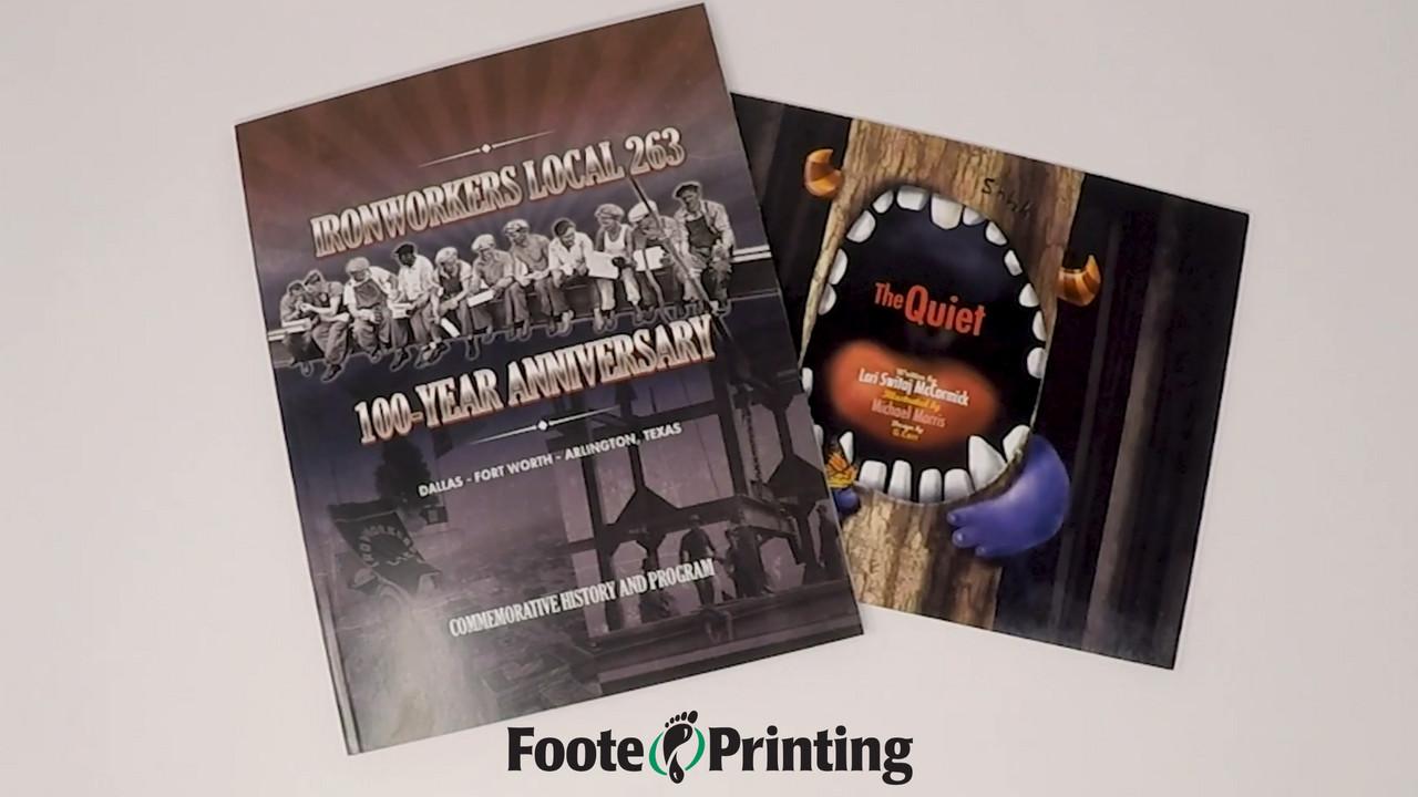Custom Softbound Book Printing