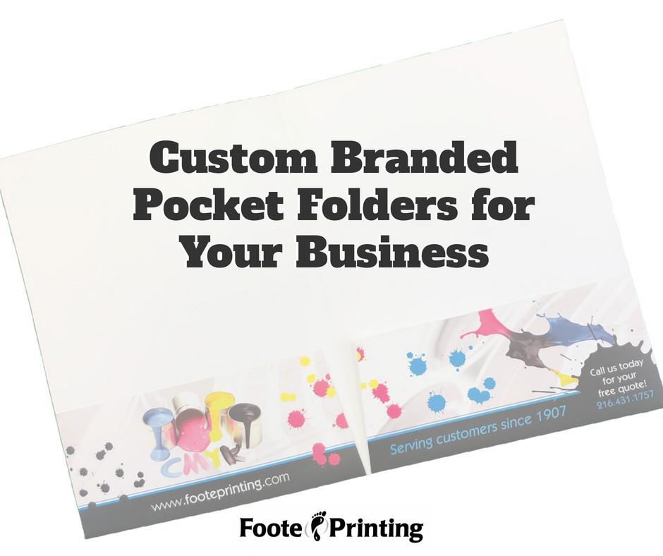 Custom Branded Pocket Folders for Your Business