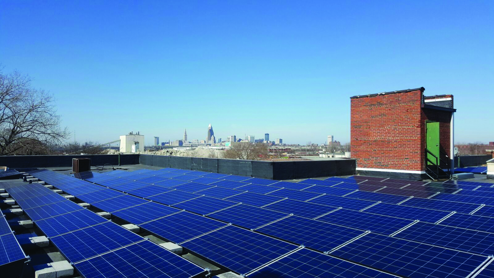 Solar Powered Printing in Cleveland, Ohio