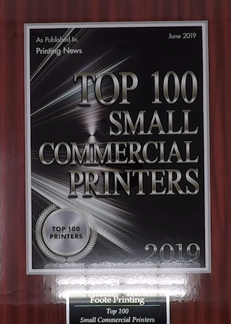top 100 small commercial printers