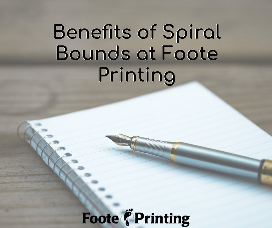 Benefits of Spiral Bounds at Foote Printing