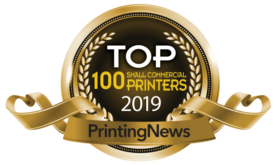 Top 100 Small Commercial Printers 2019