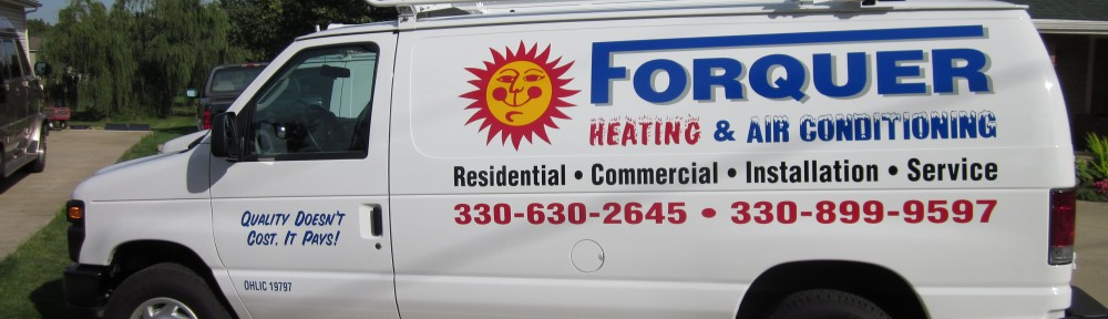 Forquer Heating and Air Truck | Forquer