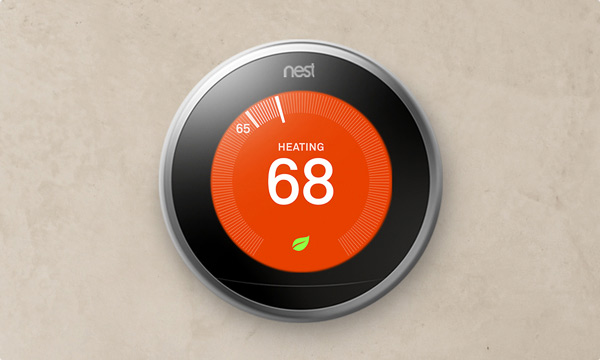 Next Learning Thermostat at Forquer Heating and Air Inc