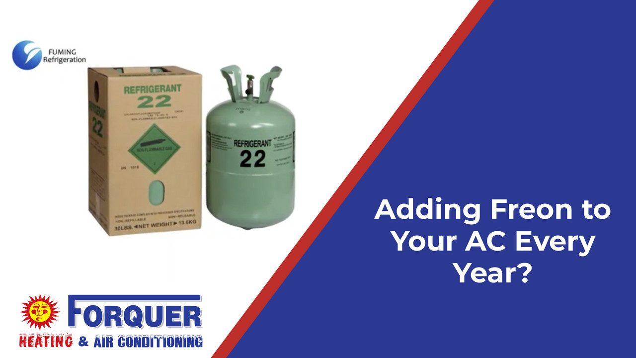 Adding Freon to Your AC Every Year