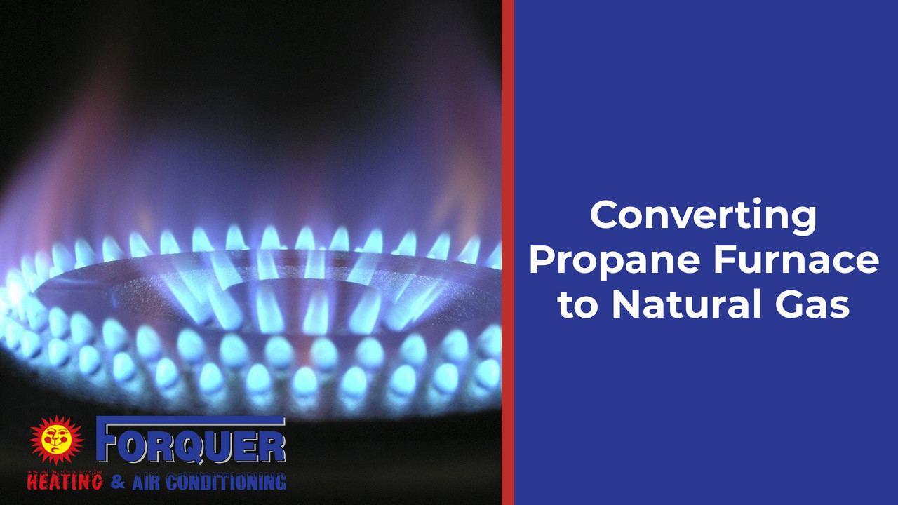 Can a Propane Furnace Convert to Natural Gas